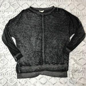 Caslon Tops - Caslon burnout sweatshirt